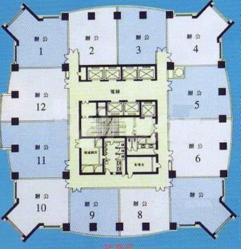 联合广场平面图