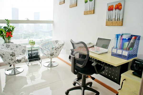 达信大厦写字楼出租 一流景观 超豪装修 达信大厦仅租1800元 中华写字楼网广州站