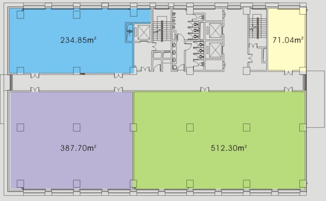 恒越国际大厦室内图   恒越国际大厦平面图   园区的周边配套设施也是非常完善的,离园区不远处就是张江镇.